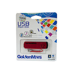 USB 2.0 Flash Disk 32GB Red Memory Stick