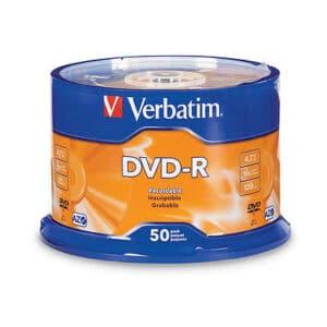 DVD-R Verbatim Printable 50 Spindle Pack