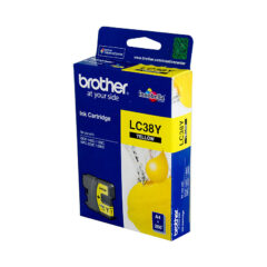Brother LC-38 Yellow Ink Cartridge