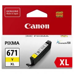Canon CLi-671XL Yellow Ink Cartridge