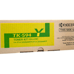 Kyocera TK-594 Yellow Genuine Toner Cartridge