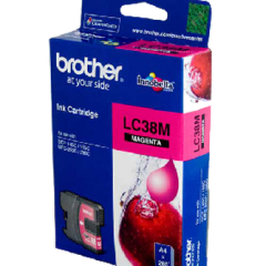 Brother LC-38 Magenta Ink Cartridge (Genuine)