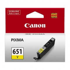 Canon CLi-651 Yellow Ink Cartridge
