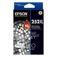 Epson 252XL C13T253192 Black High Capacity DURABrite Ultra Ink Cartridge (Genuine)