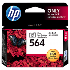HP 564 CB317WA Photo Black Ink Cartridge (Genuine)