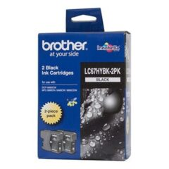 Brother LC-67HY Black Twin Pack Ink Cartridges