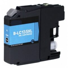 Brother LC-135XL Cyan Ink Cartridge (Compatible)