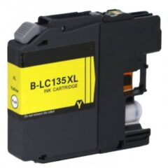 Brother LC-135XL Yellow Ink Cartridge (Compatible)