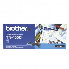 Brother TN-155C Cyan Genuine Toner Cartridge