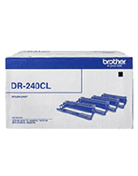 Brother DR-240CL Drum Unit (4 x Drums 1 for each colour) (Genuine)