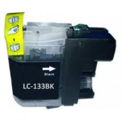 Brother LC-133 Black Ink Cartridge (Compatible)