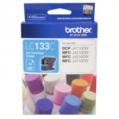 Brother LC-133 Cyan Genuine Ink Cartridge