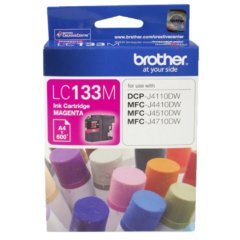 Brother LC-133 Magenta Ink Cartridge (Genuine)
