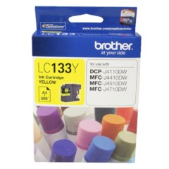 Brother LC-133 Yellow Ink Cartridge (Genuine)