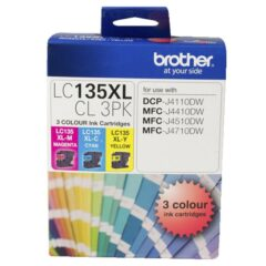 Brother LC-135XL Ink Cartridge 3 Pack