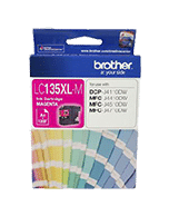 Brother-LC-135XL-Magenta-Genuine Brother LC-135XL Magenta Ink Cartridge (Genuine)