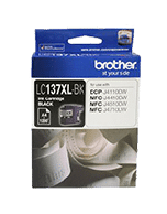 Brother LC-137XL Black Ink Cartridge (Genuine)