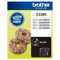 Brother LC-233 Black Ink Cartridge (Genuine)