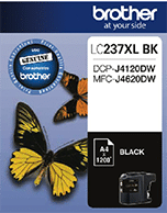 Brother LC-237XL Black High Cartridge (Genuine)