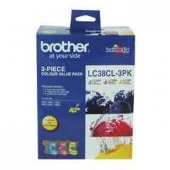 Brother LC-38 Value Pack Ink Cartridges