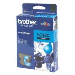 Brother LC-38 Cyan Ink Cartridge
