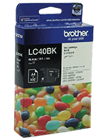 Brother LC-40 Black Ink Cartridge (Genuine)