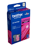 Brother-LC-67-Magenta-HY-Genuine Brother LC-67HY Magenta Ink Cartridge (Genuine)