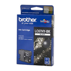 Brother LC-67HYBK Black Ink Cartridge