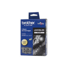 Brother LC-67HYBK Black Twin Pack Ink Cartridges
