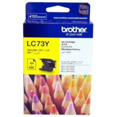 Brother LC-73 Yellow Ink Cartridge