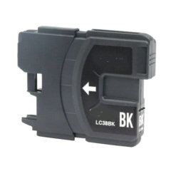 Compatible Brother LC-38BK Black Ink