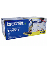 Brother-TN-155-Yellow-Genuine Brother TN-155 Yellow Toner Cartridge (Genuine)