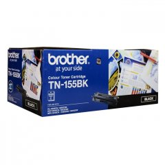 Brother TN-155BK Black Genuine Toner Cartridge