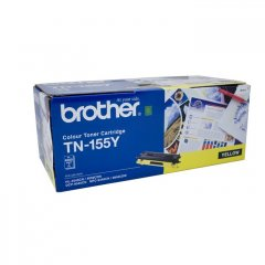 Brother TN-155Y Yellow Genuine Toner Cartridge