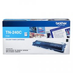 Brother TN-240C Cyan Genuine Toner Cartridge