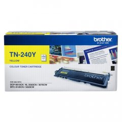 Brother TN-240Y Yellow Genuine Toner Cartridge