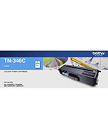 Brother TN-346 Cyan Toner Cartridge (Genuine)