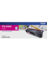 Brother-TN-346-Magenta-Genuine Brother TN-346 Magenta Toner Cartridge (Genuine)