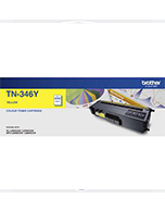 Brother-TN-346-Yellow-Genuine Brother TN-346 Yellow Toner Cartridge (Genuine)