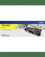 Brother TN-346 Yellow Toner Cartridge (Genuine)