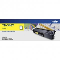 Brother TN-346Y Yellow Toner Cartridge