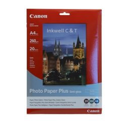 Paper Canon SG201A4 Semi Gloss Photo Paper A4 (Genuine)