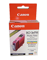 Canon-BCI-3e-Photo-Magenta-Genuine Canon BCI-3e Photo Magenta Ink Cartridge (Genuine)