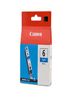 Canon BCi-6 Cyan Ink Cartridge (Genuine)