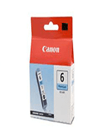 Canon BCi-6 Photo Cyan Ink Cartridge (Genuine)