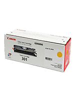 Canon-CART-301-Yellow-Genuine Canon CART 301 Yellow Toner Cartridge (Genuine)