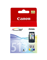 Canon CL-513 Colour Ink Cartridge (Genuine)