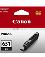 Canon-CLI-651-Black-Genuine Canon CLi-651 Black Ink Cartridge (Genuine)