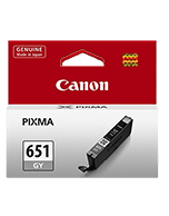 Canon-CLI-651-Grey-Genuine Canon CLi-651 Grey Ink Cartridge (Genuine)