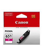 Canon-CLI-651-Magenta-Genuine Canon CLi-651 Magenta Ink Cartridge (Genuine)